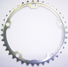 Plateau 7075 Campagnolo type ''A'' Argent interieur STRONGLIGHT
